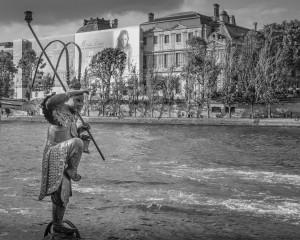 17 au bord de la Seine II (2017)