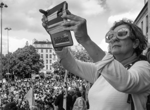 8 Sur les marches de l'Opera Bastille (2018)
