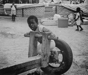 17  Paris, familles expulsées, 1990