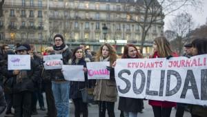 1 le 7 janvier le soir de l'attentat contre Charlie Hebdo